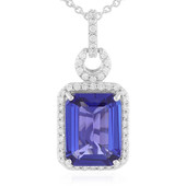 18K AAA Tanzanite Gold Necklace (AMAYANI)