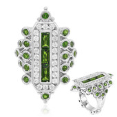 Russian Diopside Silver Ring (Dallas Prince Designs)
