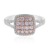 14K SI1 Pink Diamond Gold Ring (CIRARI)
