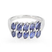 Laos Sapphire Silver Ring