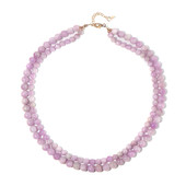 Kunzite Silver Necklace
