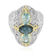 London Blue Topaz Silver Ring (Dallas Prince Designs)
