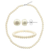 Freshwater pearl Silver Set