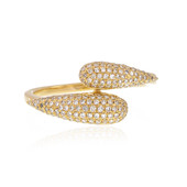 18K SI Diamond Gold Ring (de Melo)