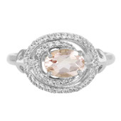 9K Nigerian Morganite Gold Ring