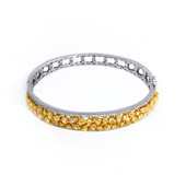 18K Yellow Diamond Gold Bangle (CIRARI)