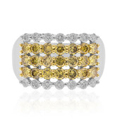 14K SI Orange Diamond Gold Ring (CIRARI)
