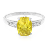 Yellow Apatite Silver Ring (Cavill)