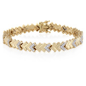 18K SI Diamond Gold Bracelet (adamantes [!])