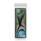 Abalone Shell Silver Pendant (MONOSONO COLLECTION)