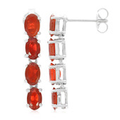 Salamanca Fire Opal Silver Earrings