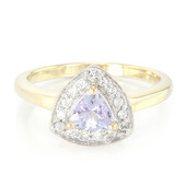 9K Fancy Tanzanite Gold Ring
