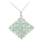 Paraiba Tourmaline Silver Necklace (Molloy)