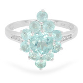 Apatite Silver Ring