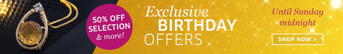 Birthday discounts