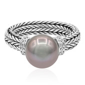 Tahitian Pearl Silver Ring (Nan Collection)