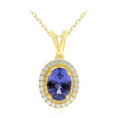 14K AAA Tanzanite Gold Necklace (CIRARI)