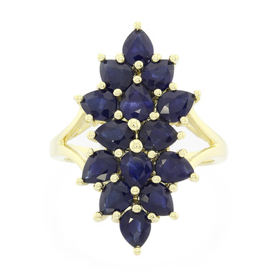9K Laos Sapphire Gold Ring