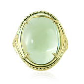14K Green Amethyst Gold Ring (de Melo)