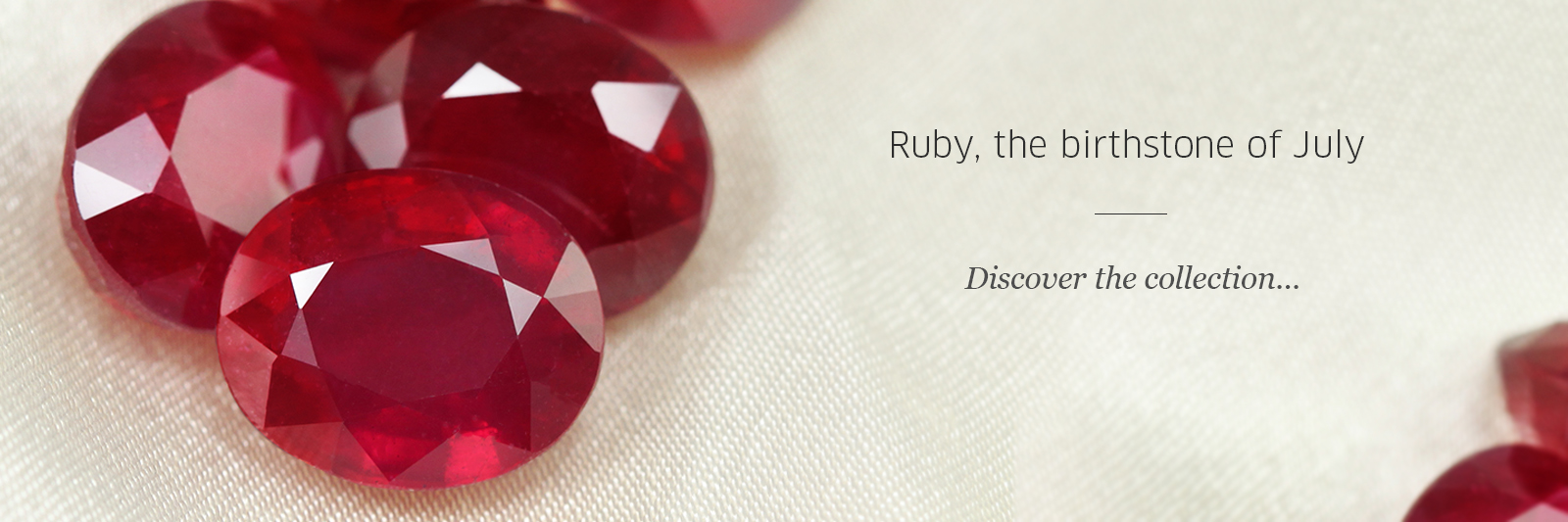 Birthstone of July: Ruby at Rocks & Co.