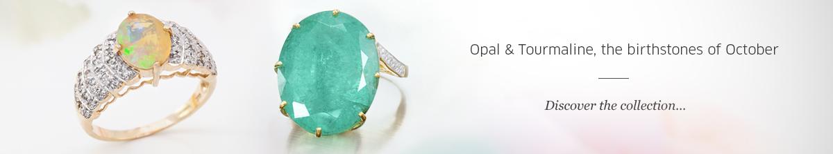 Birthstones of October: Opal & Tourmaline at Rocks & Co.