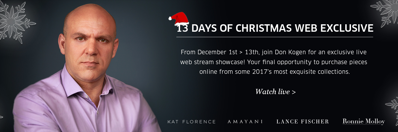 13 days of XMAS web exclusive at Rocks & Co.