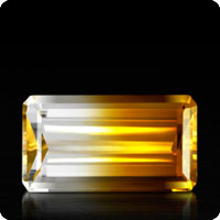 Bi-Colour-Citrine