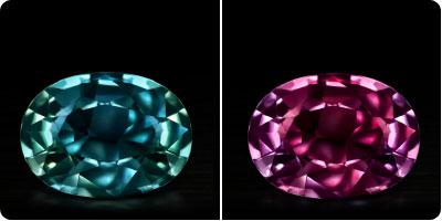 Colour Change Sapphire
