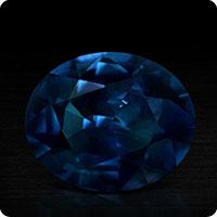 Midnight Blue Sapphire