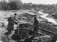 Alluvial gold miners