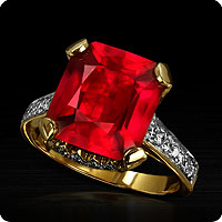 Mozambique Ruby Ring