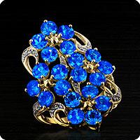 Neon Blue Apatatie Jewellery