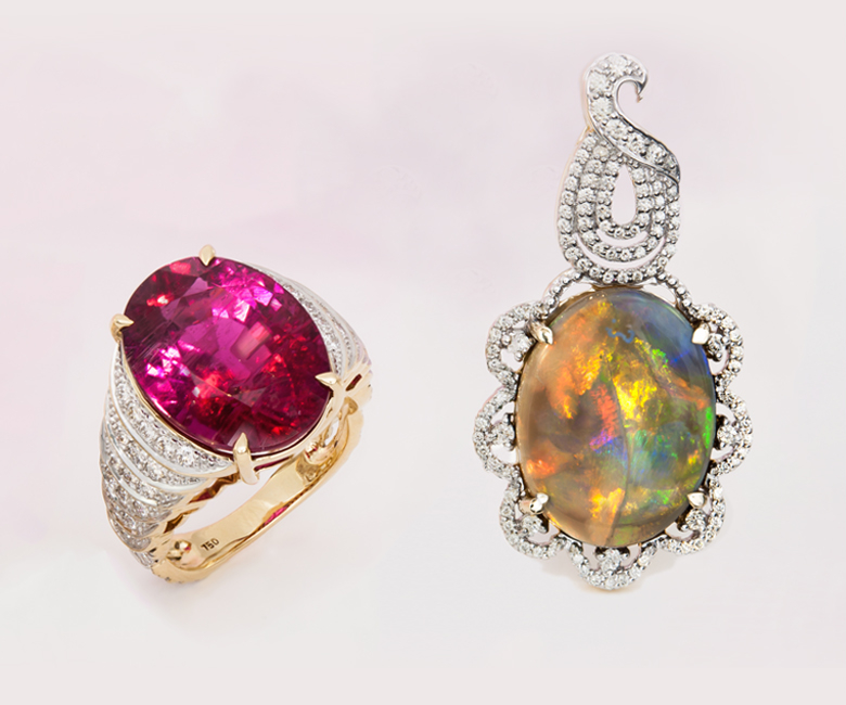 The Birthstones of October: Opal & Tourmaline at Rocks & Co. Outlet