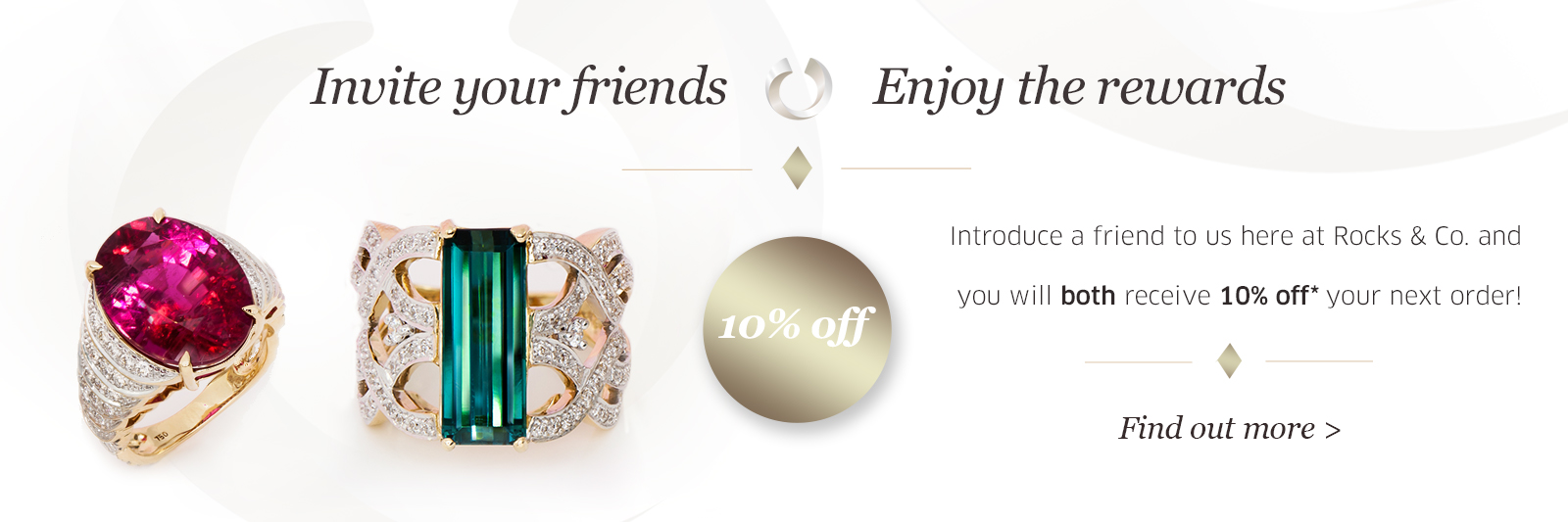 Refer a friend and get 10% off