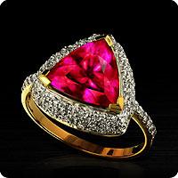 Shimoyo Rubellite Ring