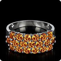 Spessartite Ring