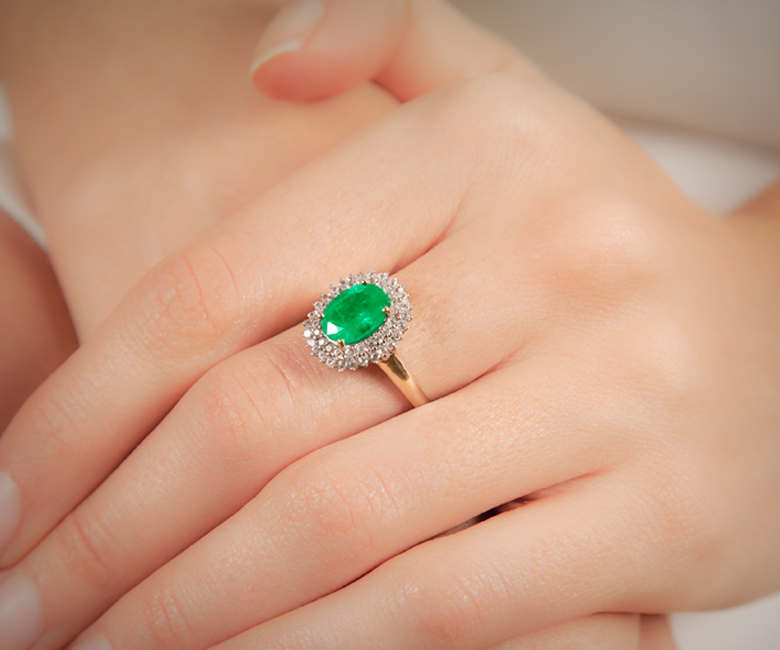 Emerald Jewellery at Rocks & Co. Outlet