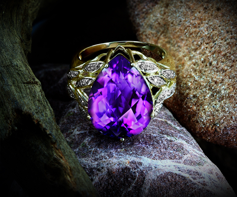 The birthstones of February: Amethyst at Rocks & Co.