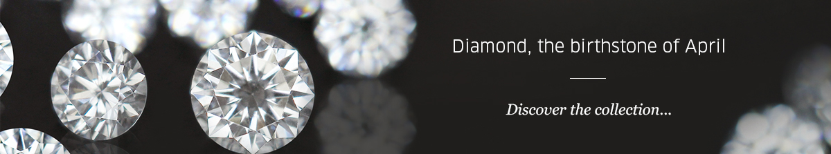Birthstone April: Diamond at Rocks and Co.