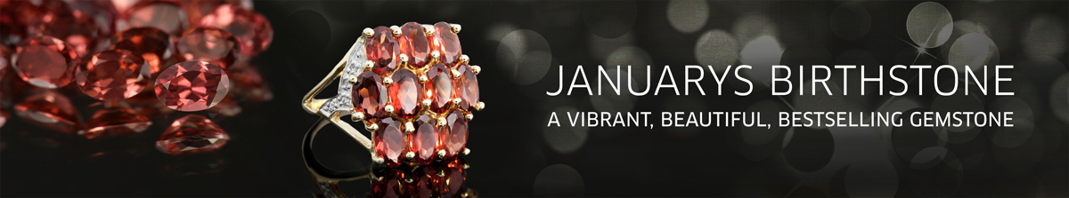 Birthstone January: Garnet at Rocks and Co.