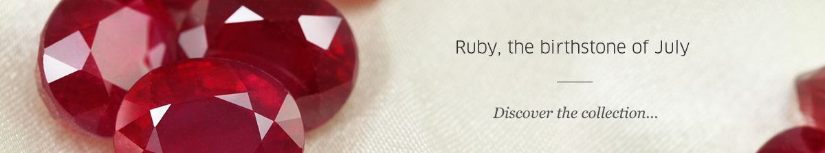 Birthstone July: Ruby at Rocks and Co.