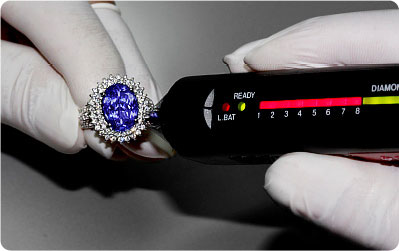Electronic Diamond tester (pictured)