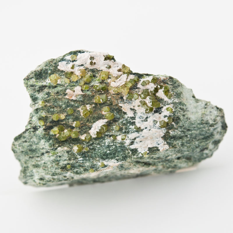 Demantoid rough gemstone