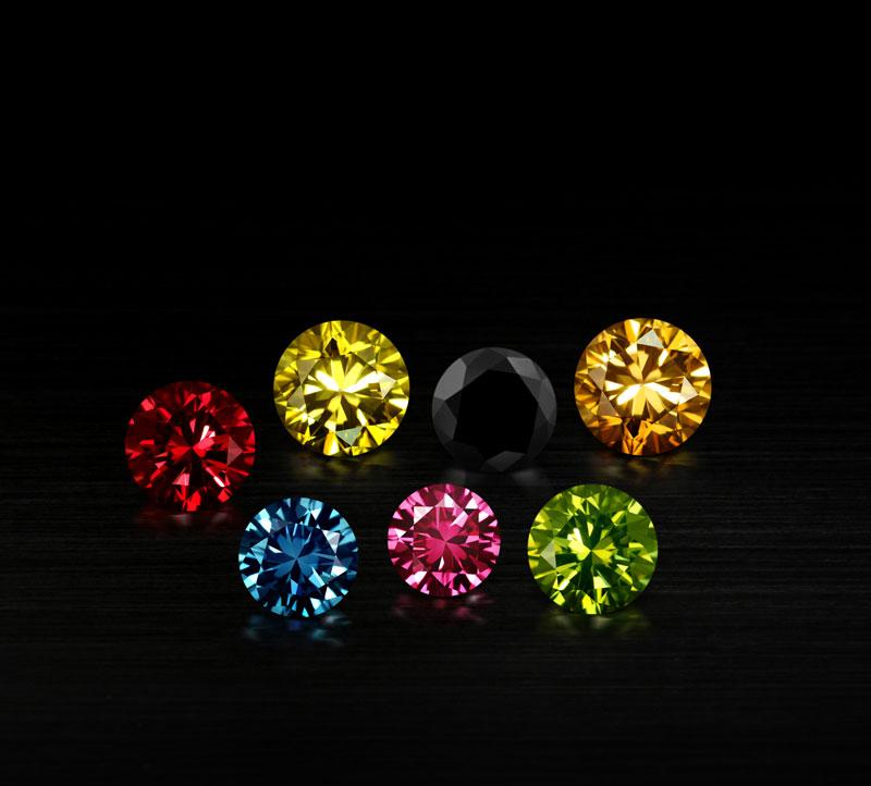 Mixed-Diamonds