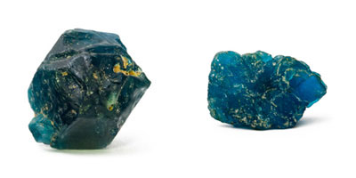 Royal Blue and Neon Blue Apatite
