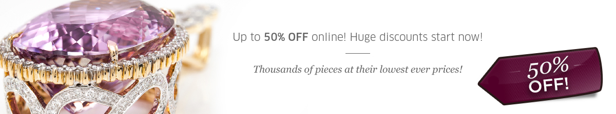 50% OFF at Rocks and Co.